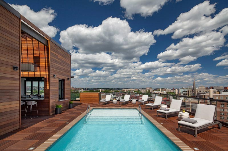 Mason and Rook Rooftop Pool - Kimpton Hotels and Restaurants in Washington, DC