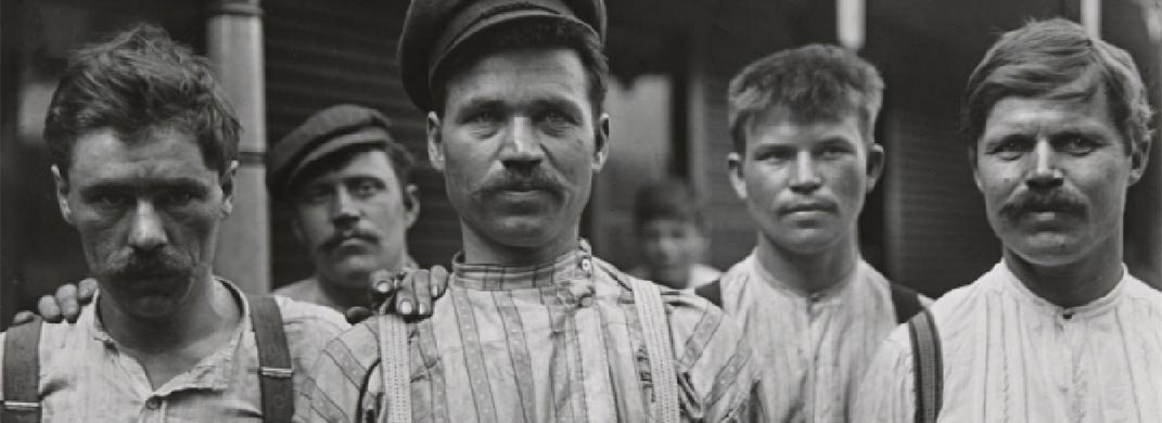 'The Sweat of Their Face: Portraying American Workers'  Exhibit at the National Portrait Gallery - Free Smithsonian Museum in Washington, DC