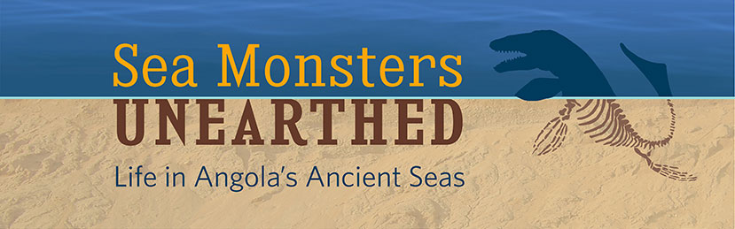 Sea Monsters Unearthed: Life in Angola's Ancient Seas at the Smithsonian National Museum of Natural History in Washington, DC