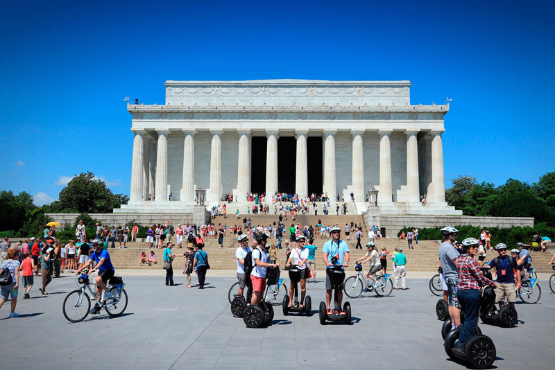 Segway Tour on the National Mall - Family Friendly Activities in Washington, DC