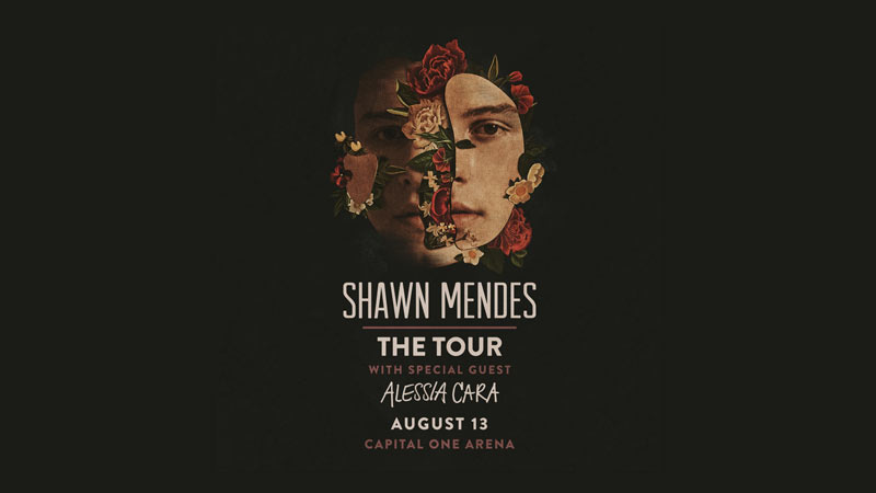 Shawn Mendes at DC's Capital One Arena - The best summer concerts in Washington, DC