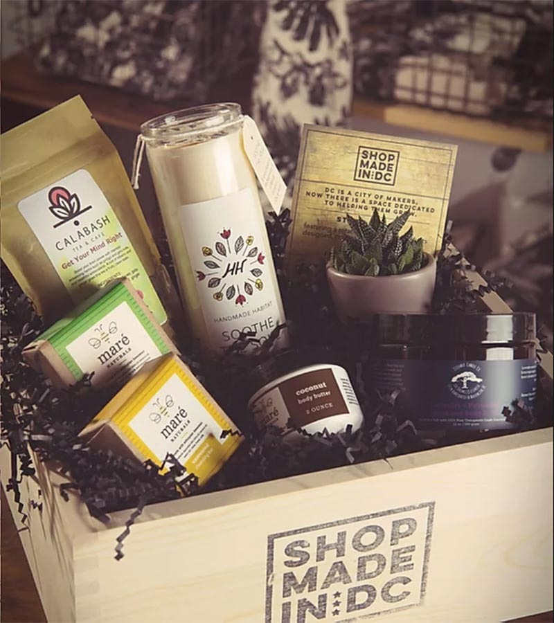 Shop Made in DC Gift Basket