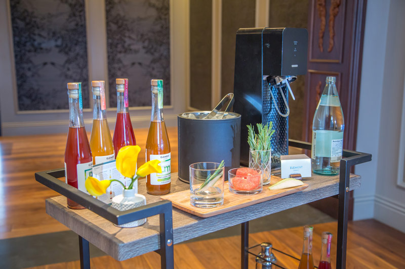 Make your own cocktail at The Darcy - Unique meeting break ideas in Washington, DC