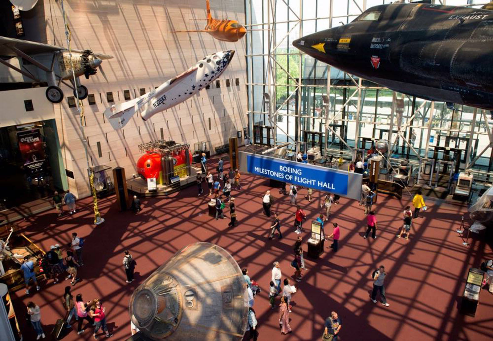 16 Kid Friendly Attractions Hands On Museums In Washington DC Smithsonian Air And Space