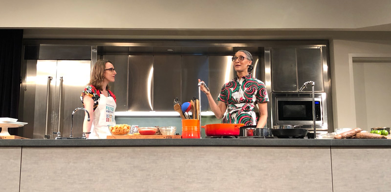 Cooking Up History food demonstration at the Smithsonian National Museum of American History with Carla Hall - Free Smithsonian events in Washington, DC