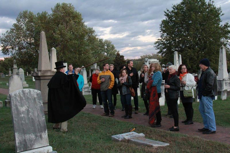 Soul Strolls at Historic Congressional Cemetery - Ghost Tours in Washington, DC