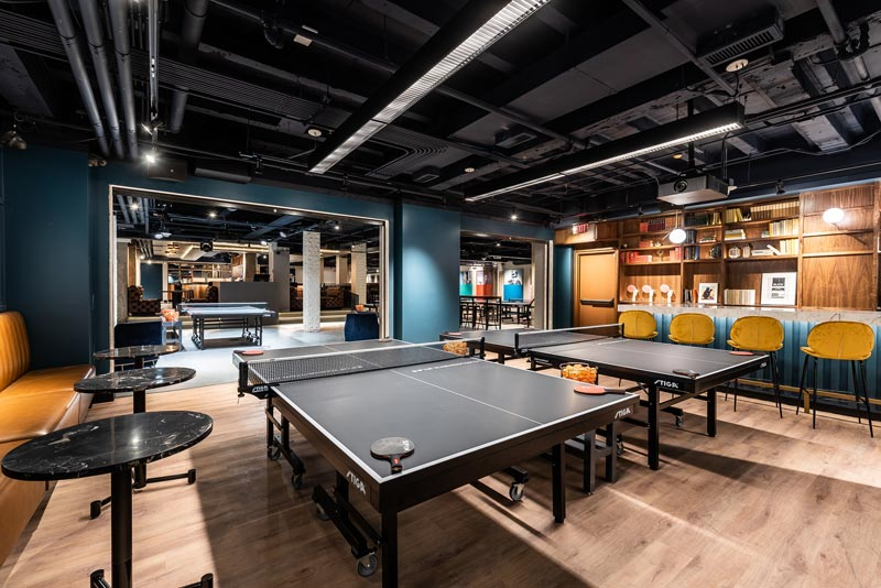 SPIN Ping Pong Social Club in Downtown DC - Places Where You Can Play Ping Pong in Washington, DC