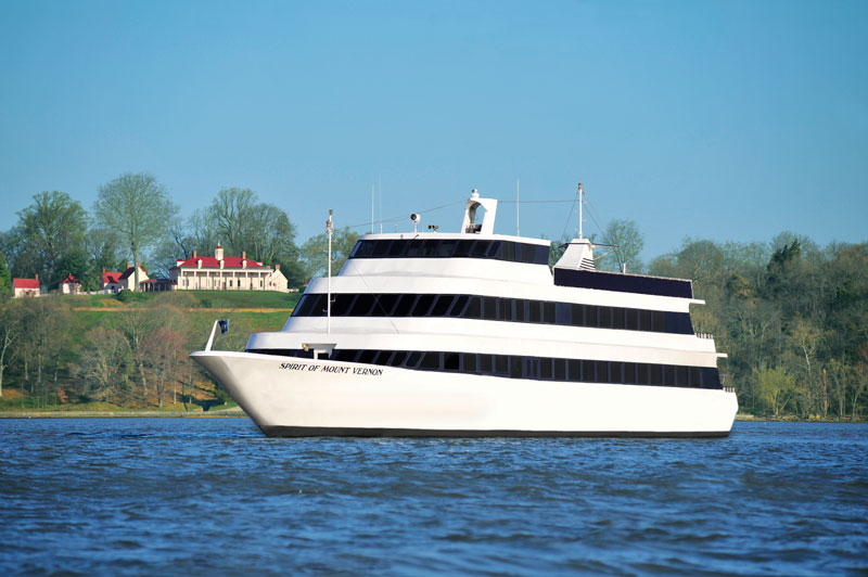 Spirit of Mount Vernon boat cruise to George Washington's Mount Vernon - The best boating experiences in and around Washington, DC
