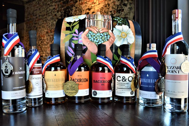 Award-winning spirits produced at District Distilling Co. - Distilleries in and around Washington, DC
