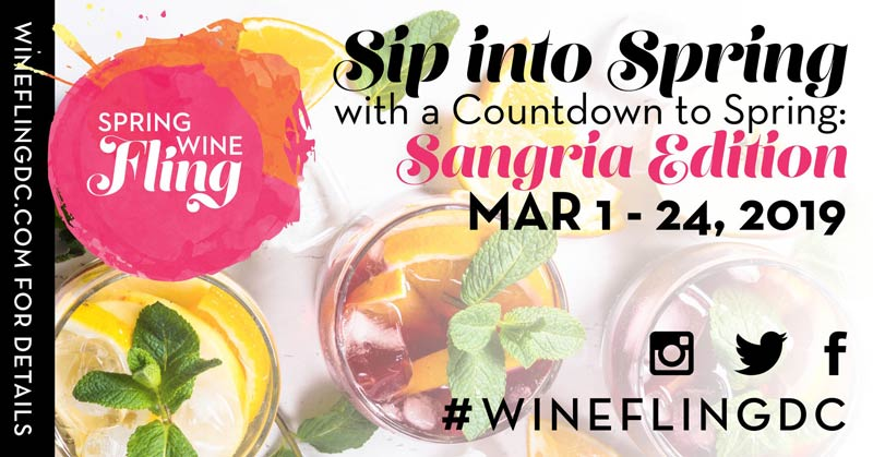Spring Wine Fling - The best events this March in Washington, DC