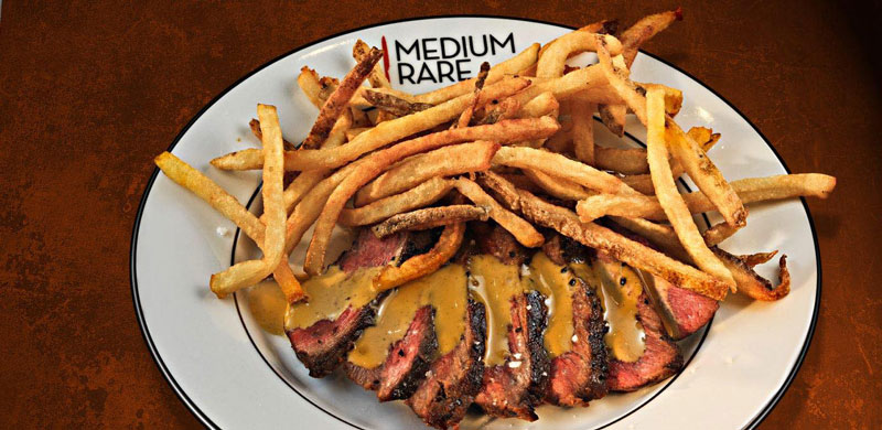 Steak frites from Medium Rare - Steakhouses in Washington, DC