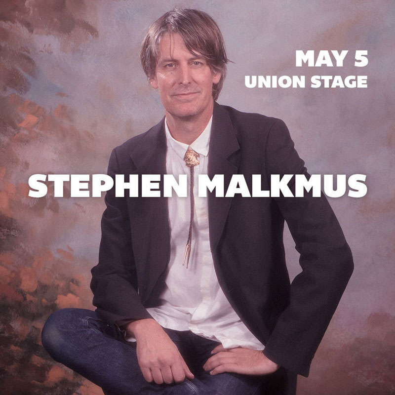 Stephen Malkmus at Union Stage - Concerts this May in Washington, DC