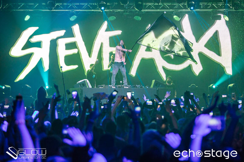 Steve Aoki at Echostage | Things to Do in Washington, DC in February