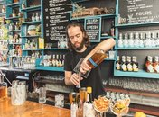 Bartender at Cotton and Reed Distillery near Union Market - Distilleries in and around Washington, DC