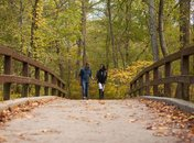 Couple in Rock Creek Park - Free Outdoor Activities in Washington, DC