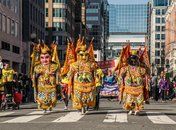 Chinese New Year Parade in DC's Chinatown neighborhood - Ways to celebrate Chinese New Year in Washington, DC