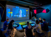 Visitors in the Decision Room at the new International Spy Museum - Museums and attractions in Washington, DC