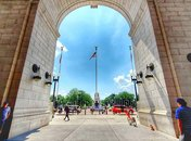 @experienciasdeviagensblog - View from Union Station - Transportation hub in Washington, DC