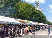 Giant National Capital Barbecue Battle on Pennsylvania Avenue - Summer festival in Washington, DC