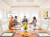 Group meeting at Top of the Hay in The Hay-Adams hotel - Boardrooms with natural light in Washington, DC
