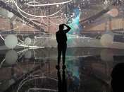 Lucid Motion exhibit at ARTECHOUSE in Washington, DC - Interactive Instagrammable exhibit in DC