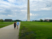 couple on the national monument
