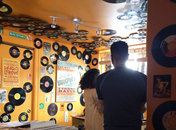 Inside Som Records on 14th St in Washington DC