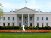 the white house north lawn