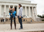 Family visiting Lincoln Memorial - Free family-friendly things to do in Washington, DC