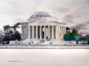 Jefferson Memorial on the National Mall - Winter Wonderland in Washington, DC - The Best Things to Do This Winter in DC