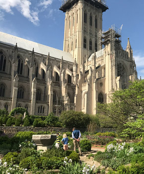 Family at Washington National Cathedral in Upper NW - Family-Friendly Things to Do in Washington, DC