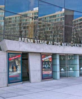 Arena Stage main entrance