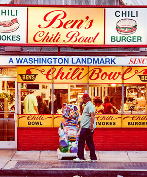 Ben's Chili Bowl on the Corner of 14th and U Street
