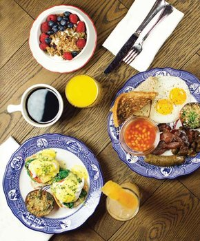 Brunch at Farmers and Distillers in Chinatown - Where to get the best brunch in Washington, DC