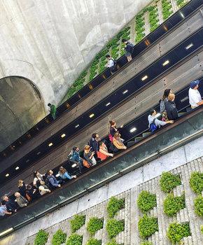 @bw22retouch - Dupont Circle Metro Station - Public Transportation in Washington, DC