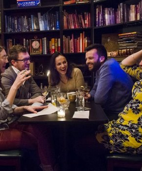Diners at Petworth Citizen & Reading Room - Places to eat in Washington, DC
