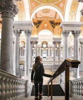 @eandmbambrick - Exploring the Library of Congress - Washington, DC
