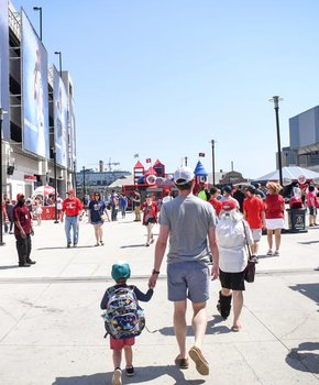 Family-friendly things to do in Washington, DC - Attend a Washington Nationals baseball game