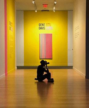 @jenburnett - Gene Davis Hot Beat Exhibit at the Smithsonian American Art Museum - Things to Do in Washington, DC