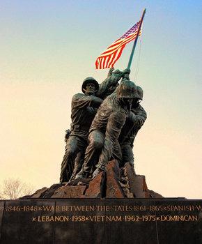 @jkayephotography - Statue at Marine Corps War Memorial - Iwo Jima Memorial