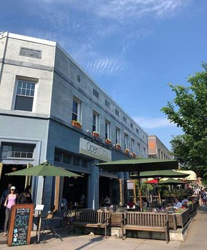 @meghan1943 - Scene at Open City Restaurant - The Best Places to Eat in DC's Woodley Park Neighborhood