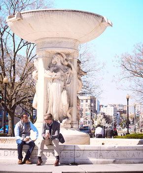 Dupont Circle - Neighborhood Landmarks - Washington, DC