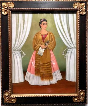 @mermacita - Frida KahloSelf-Portrait Dedicated to Leon Trotsky at the National Museum of Women in the Arts - Art museums in Washington, DC