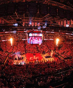 Washington Wizards Playoff Game in the Verizon Center
