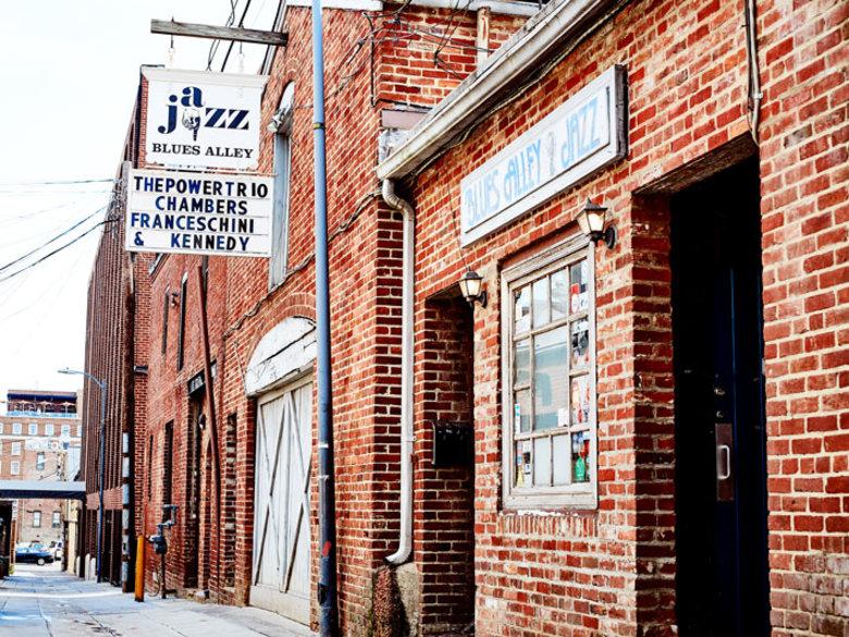 Blues Alley Jazz Club - Historic Georgetown - Washington, DC
