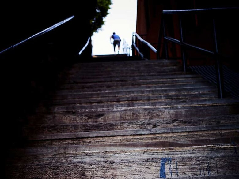 Exorcist Steps in Georgetown - Haunted places in Washington, DC