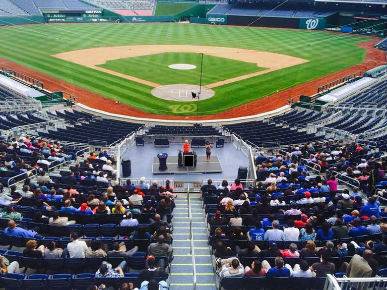 Outdoor event at Nationals Park on the Capitol Riverfront - Great outdoor event space in Washington, DC