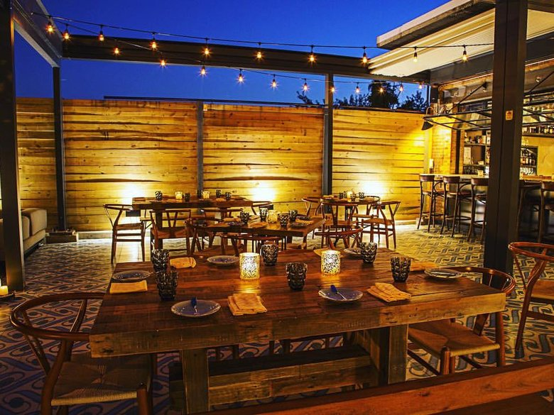 Outdoor Dining at Masseria in NoMa - Michelin-Starred Restaurant in Washington, DC