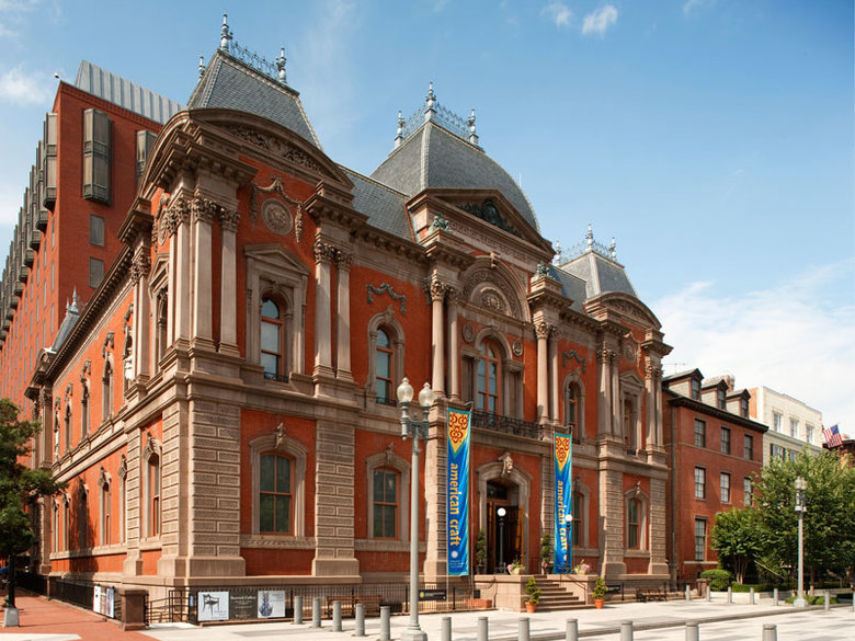 Renwick Gallery of the Smithsonian American Art Museum - Washington, DC
