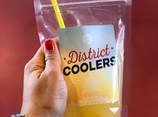 Boozy adult juice box from Nationals Park - The best summer food and drink trends in Washington, DC